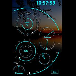 Modern Clock X Pro
