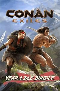 Carátula para el juego Conan Exiles – Year 1 DLC Bundle de Xbox 360