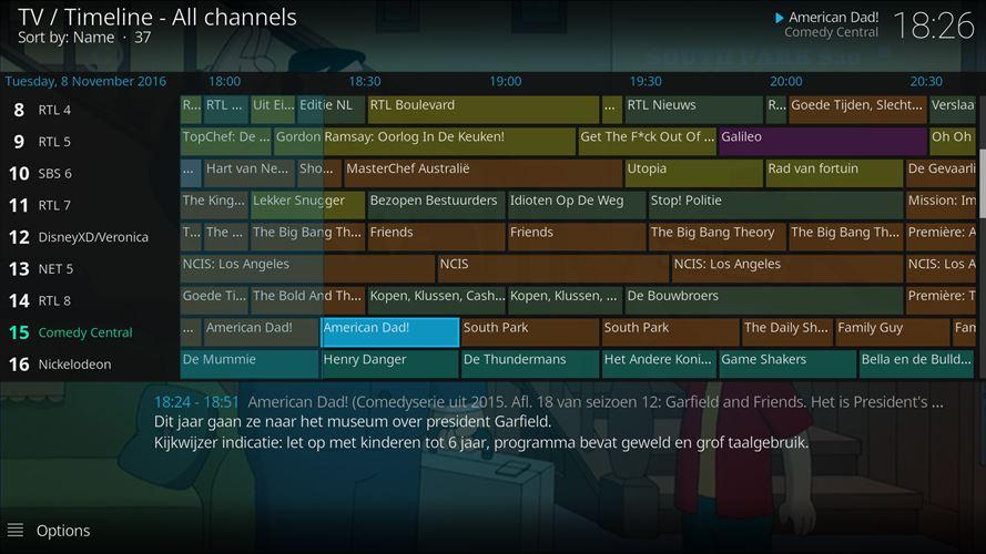 Pacote com muitos canais de TV para o Windows 10 - Windows Club