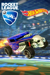 Carátula del juego Rocket League - Hot Wheels Bone Shaker