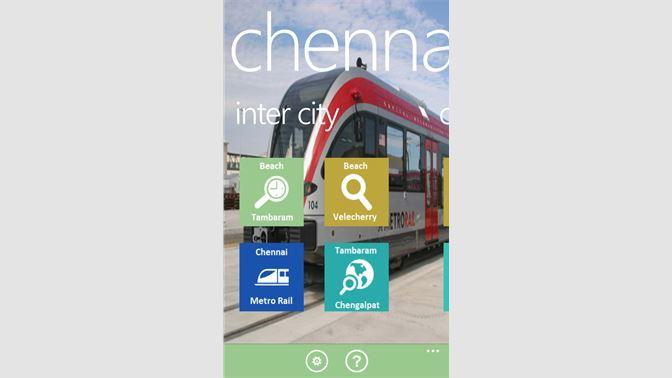 Get Chennai Rail - Microsoft Store en-BD