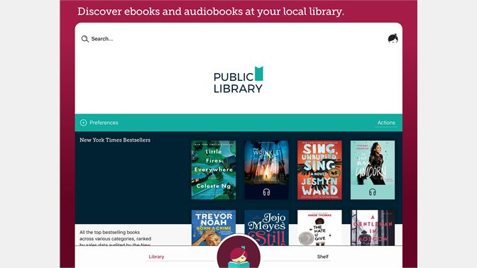 Get libby by overdrive microsoft store screenshot discover ebooks and audiobooks at your local library fandeluxe Images