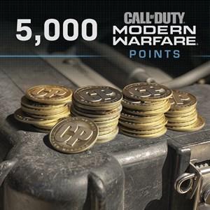 5,000 Call of Duty®: Modern Warfare® Points Xbox One
