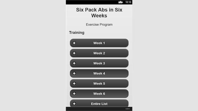 easy way to get a six pack in 1 week
