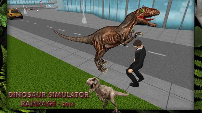 Get Dinosaur Simulator City Rampage 2016 - Microsoft Store