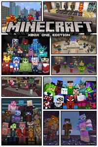 Minecraft Marvel Skin Packs Bundle