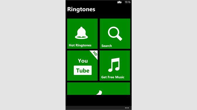 Get Free Ringtones - Microsoft Store