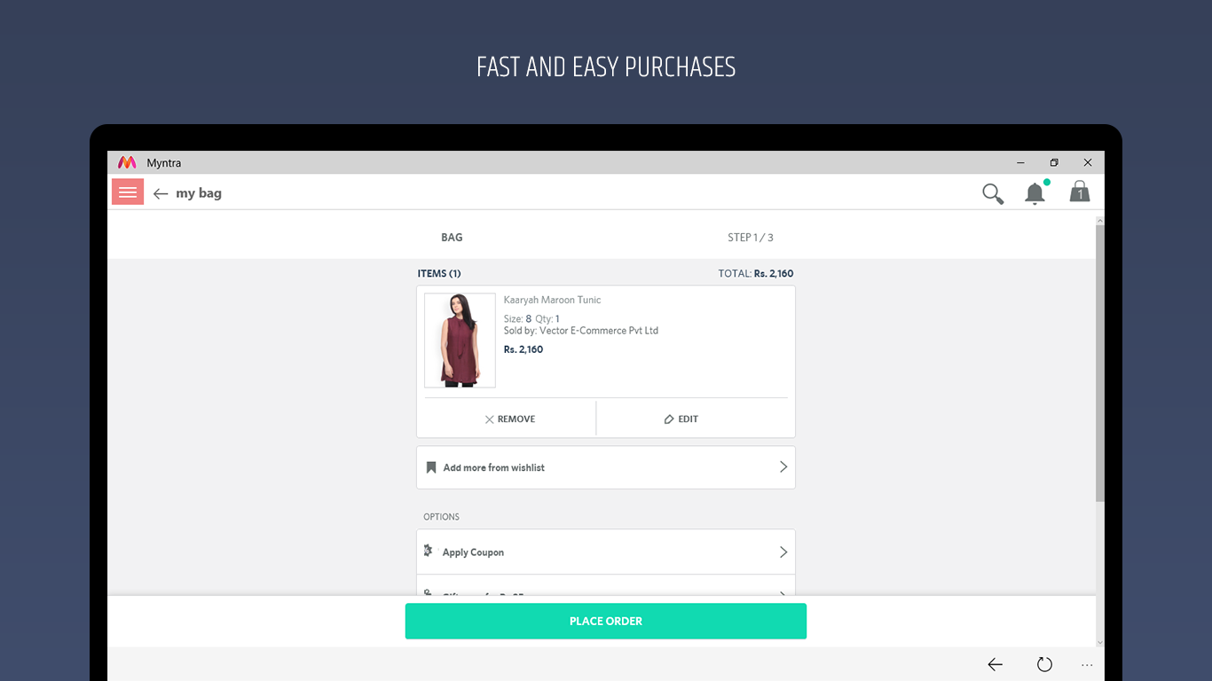 Myntra - India's Fashion Store