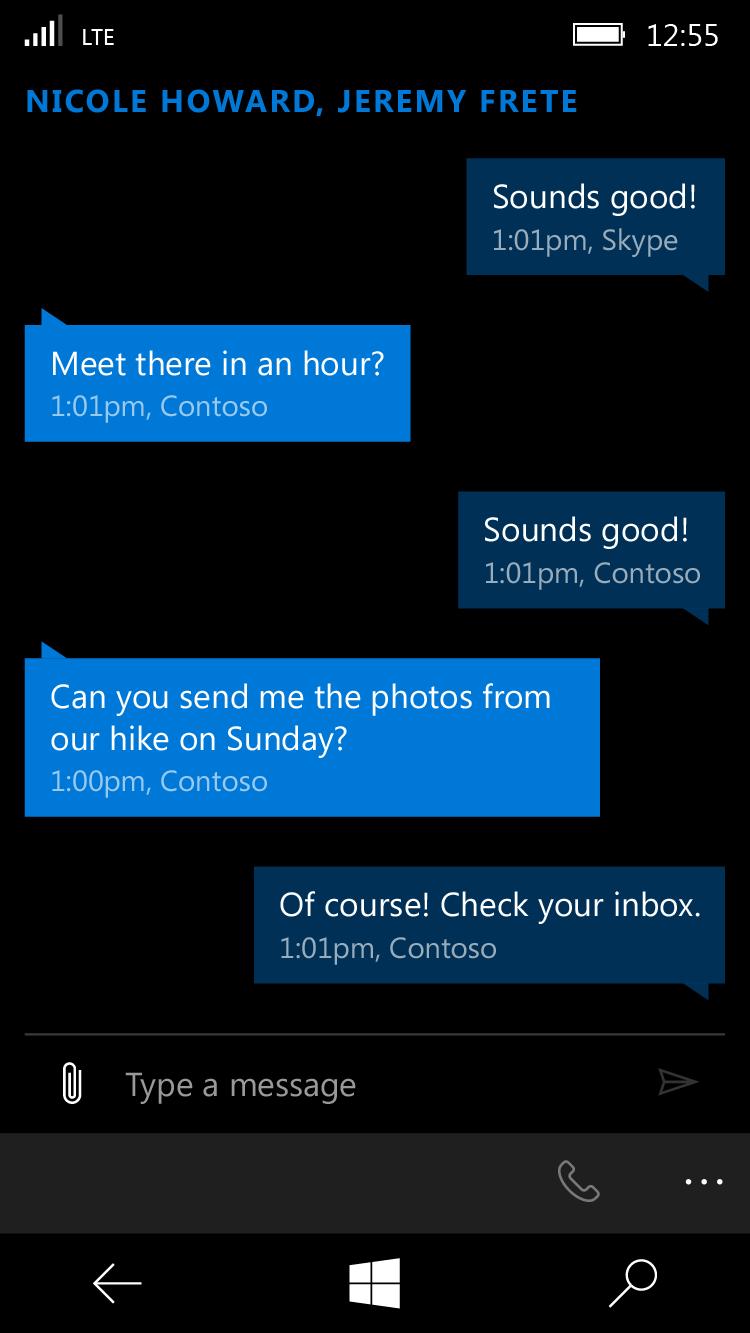 Microsoft Messaging