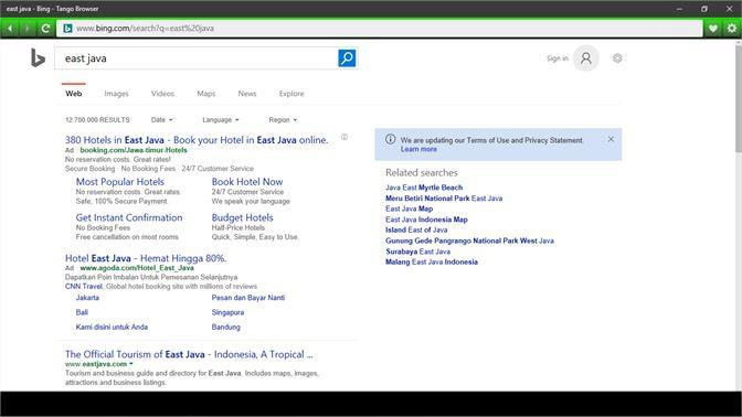 Get Tango Browser - Microsoft Store