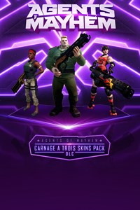 Agents of Mayhem - Carnage a Trois Skins Pack