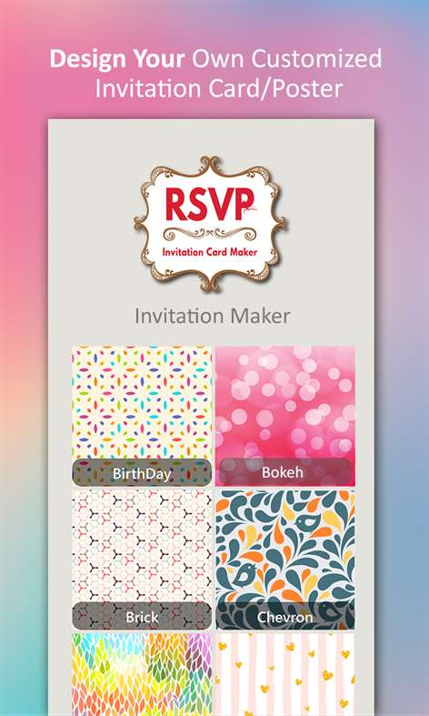 Get invitation maker rsvp maker microsoft store screenshot stopboris Choice Image