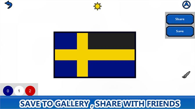 Flags Color by Number - Pixel Art Coloring Book beziehen ...