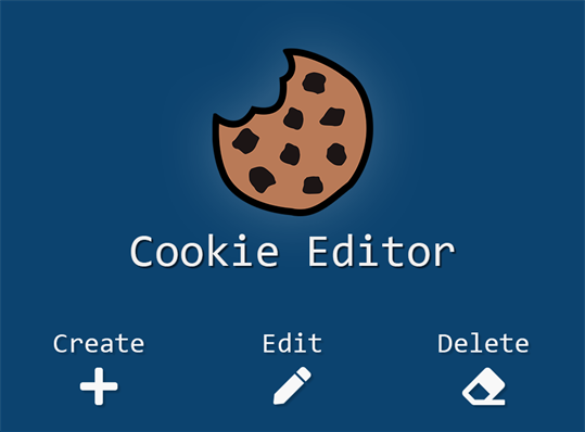 Cookie-Editor screenshot 3