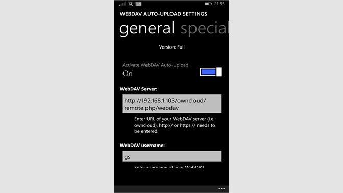 Buy WebDAV Auto-Upload - Microsoft Store