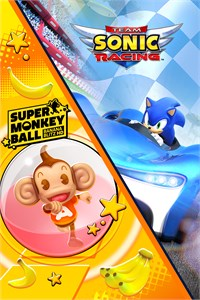 Carátula para el juego Team Sonic Racing & Super Monkey Ball: Banana Blitz HD de Xbox 360