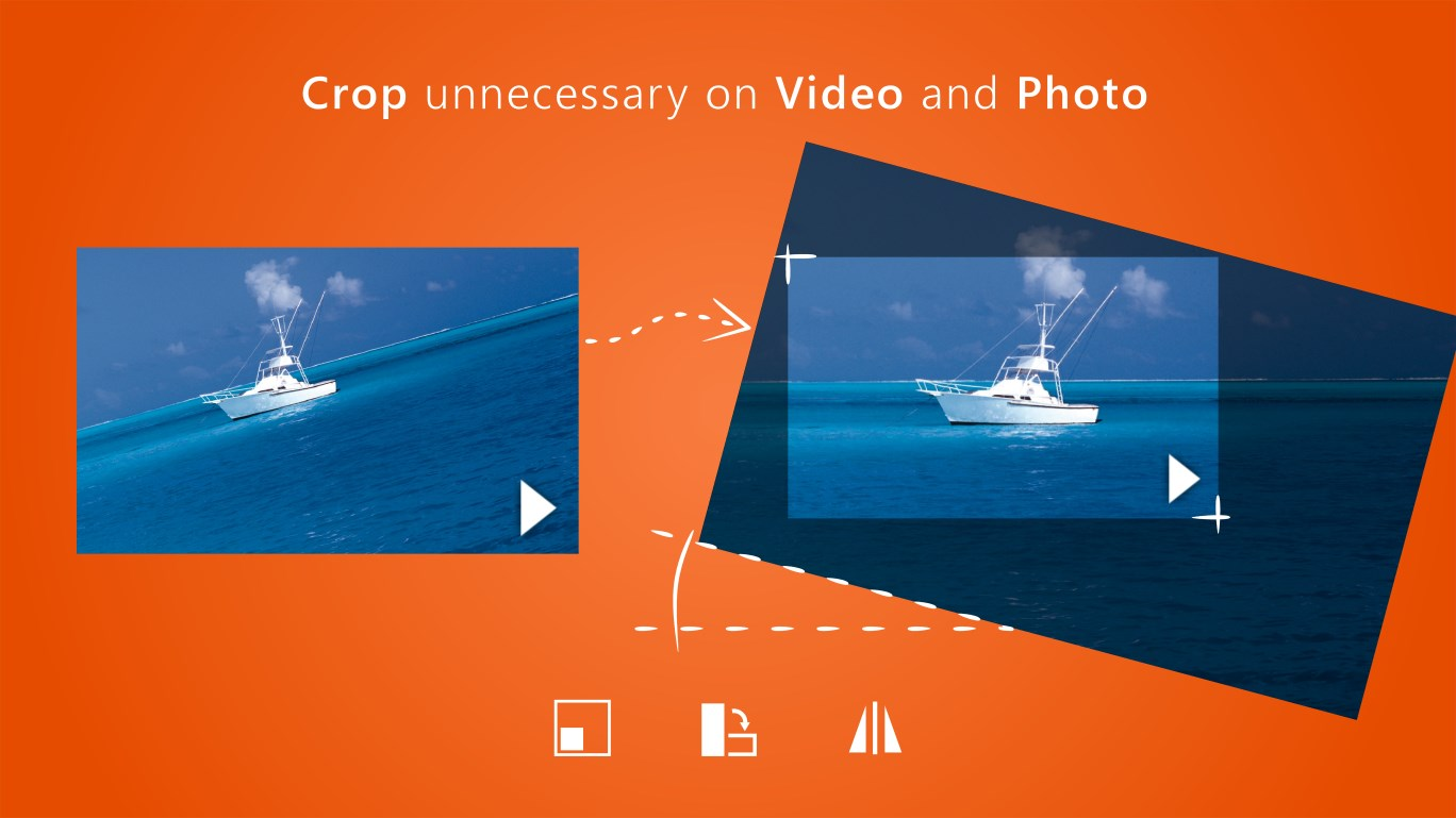 CropiPic - crop video & image