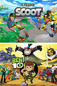 Ben 10 and Crayola Scoot Bundle