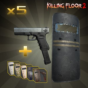 Riot Shield & G18 Xbox One