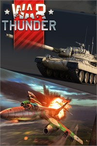 Carátula del juego War Thunder - Vautour IIA and Super AMX-30 Bundle