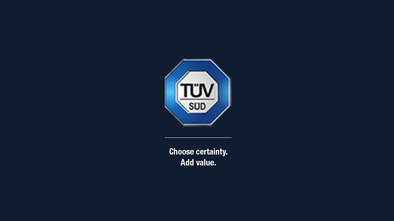 TUV SUD for Windows 10