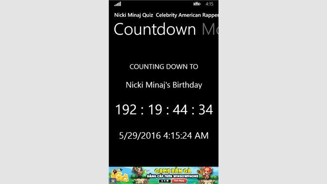 Get Nicki Minaj Quiz Celebrity American Rapper Singer