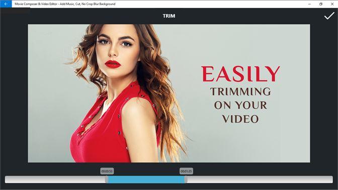 Get Movie Composer & Video Editor - Add Music, Cut, No Crop