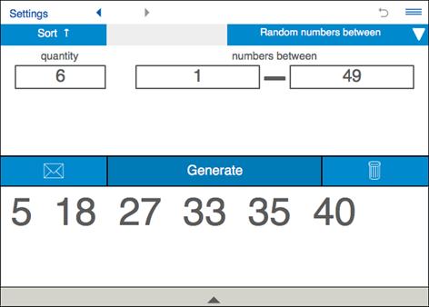 Nummer Generator