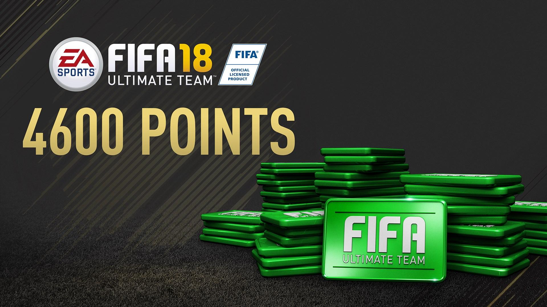 Pacote de 4600 FIFA 18 Points
