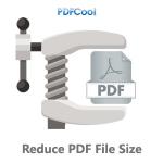 Reduce PDF File Size - PDFCool Logo
