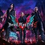 Devil May Cry 5 Deluxe Edition Logo
