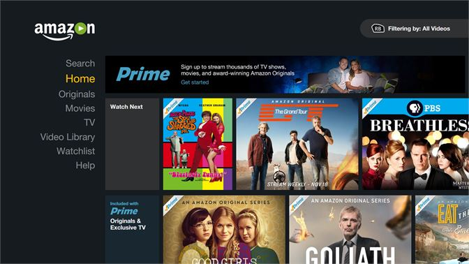 amazon video player app for pc