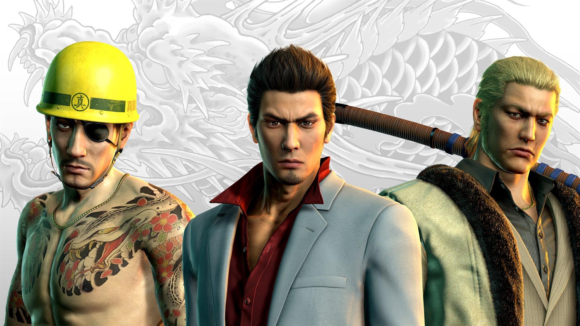 Yakuza Kiwami 2 Clan Creator Bundle