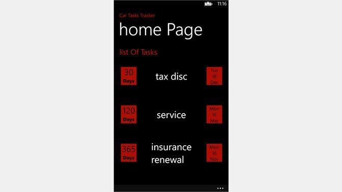 buy car maintenance tracker app microsoft store en gb