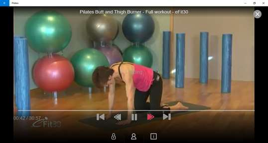 Pilates by fawesome.tv screenshot 3