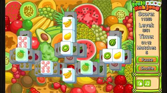 Fruit Mahjong' screenshot 4