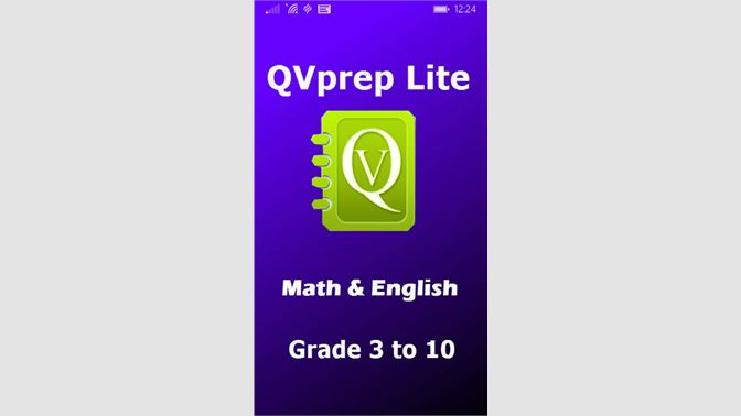 Qvprep Lite Math English School Edition Grade 3 To 10 Al