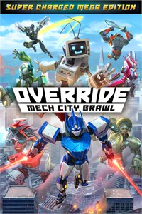 Carátula del juego Override: Mech City Brawl - Super Charged Mega Edition