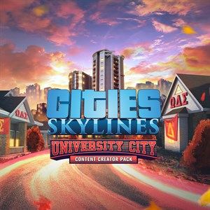 Cities: Skylines - Content Creator Pack: University City Xbox One