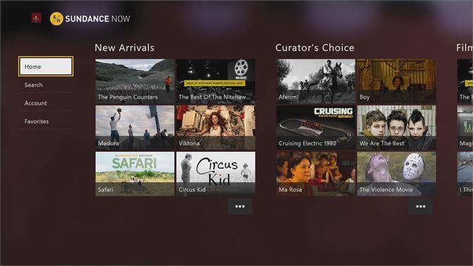 Get Sundance Now - Microsoft Store
