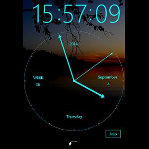 Modern Clock XXI