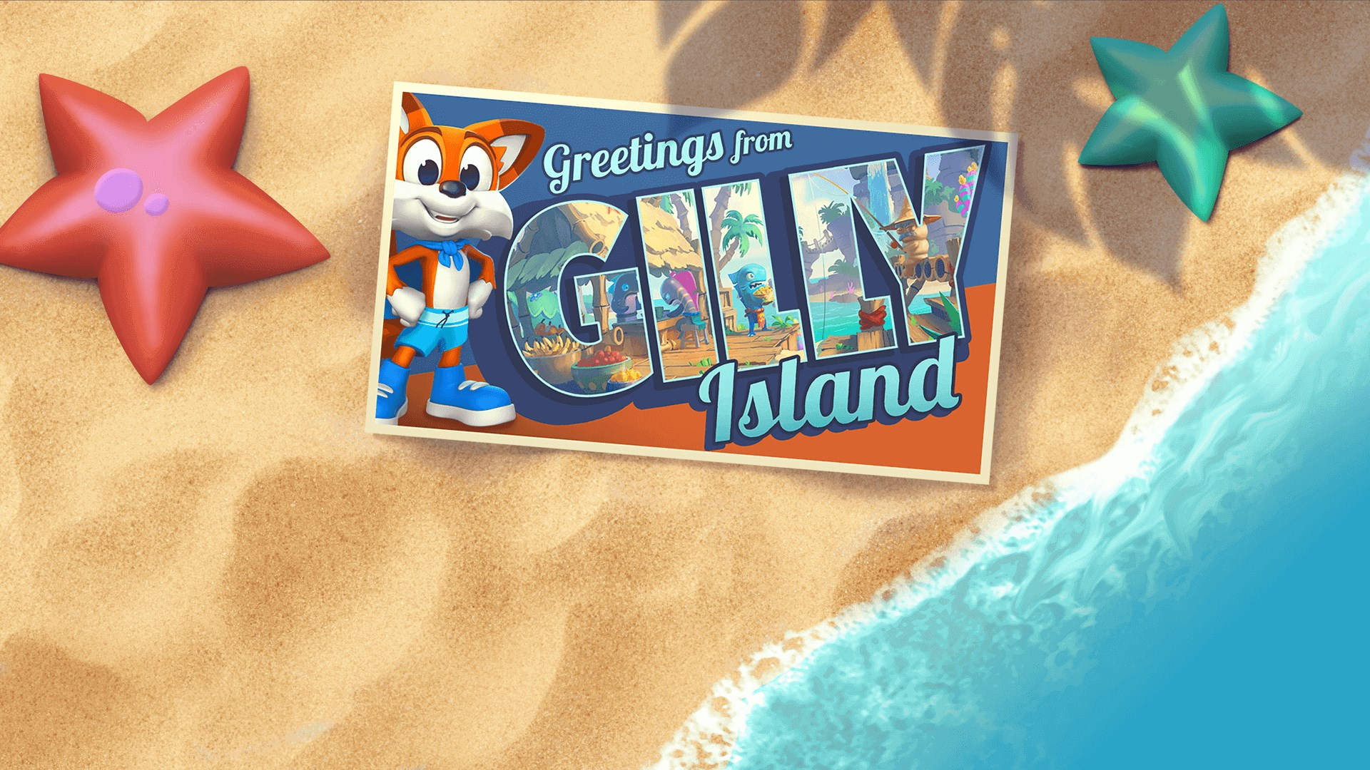 Super Lucky's Tale - Gilly Island Add on