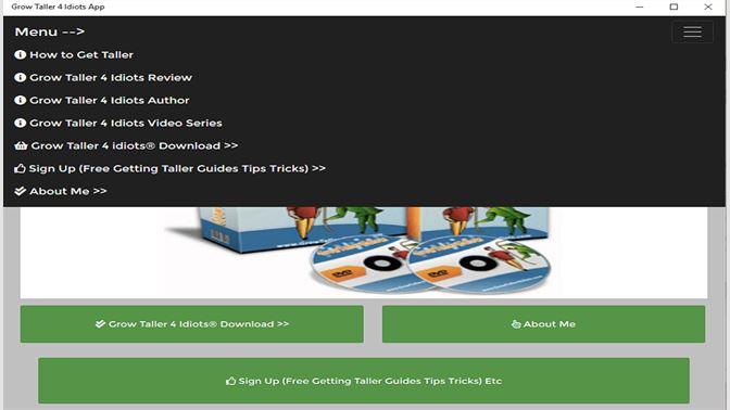 Get Grow Taller 4 Idiots Review Pdf Ebook Book Download Online Microsoft Store En Qa