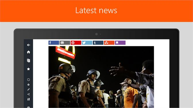 Get Newsstand: all news sites in one application - Microsoft