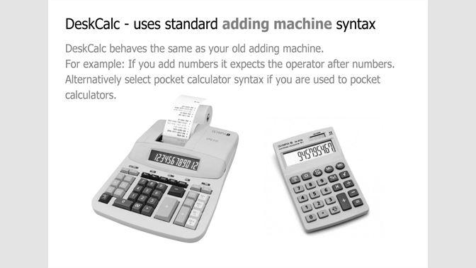 Get DeskCalc Adding Machine - Microsoft Store