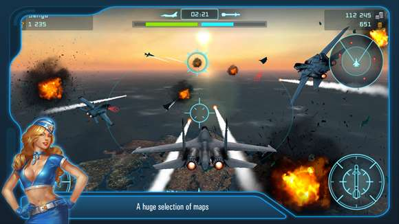 Battle of Warplanes now in the Windows Store 1