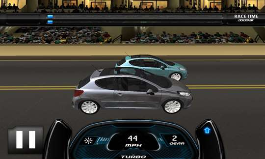 Drag Racing 3D Rush Rivals screenshot 2