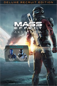 Carátula del juego Mass Effect: Andromeda – Deluxe Recruit Edition