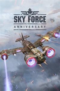 Carátula para el juego Sky Force Anniversary de Xbox 360