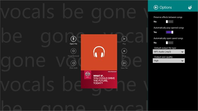 Get Vocals Be Gone - Microsoft Store